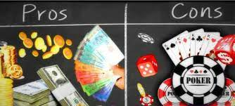 Pros and Cons of Playing Online Poker